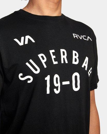4 RVCA X SENIESA ESTRADA WALKOUT FIGHT TEE Black AVYZT00873 RVCA