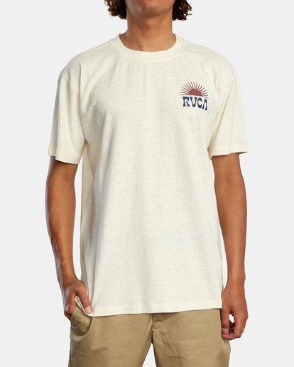 1 Harmonia Graphic Short Sleeve Tee White AVYZT00882 RVCA