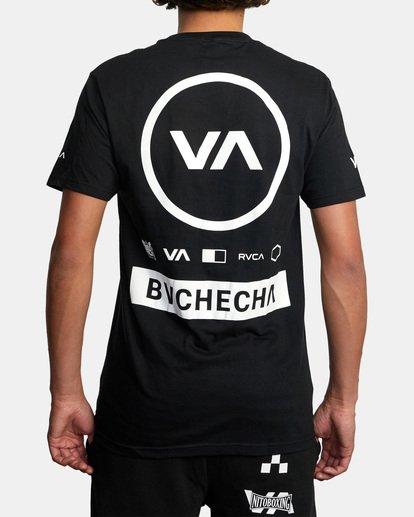 3 Marcus Buchecha | VA Sport x Buchecha One Short Sleeve Tee Black AVYZT00964 RVCA
