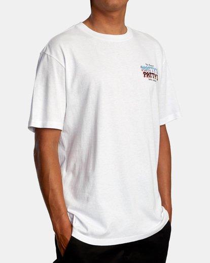 6 Matty Matheson | Matty's Patty's North Shore Short Sleeve Tee White AVYZT00965 RVCA