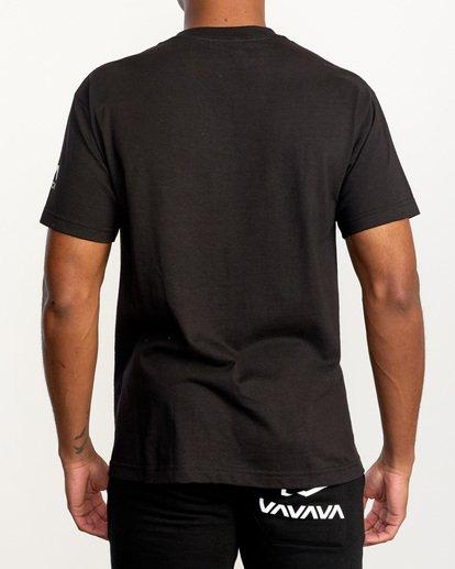 2 Gilbert Burns   VA Sport x Gilbert Burns 264 Short Sleeve Tee Black AVYZT01195 RVCA