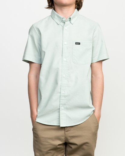 1 Boys That'll Do Oxford Shirt  B3504TDS RVCA