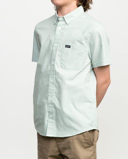 3 Boys That'll Do Oxford Shirt  B3504TDS RVCA