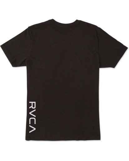 1 VA Sport | Boy's RVCA Short Sleeve Tee Black B4163RVA RVCA