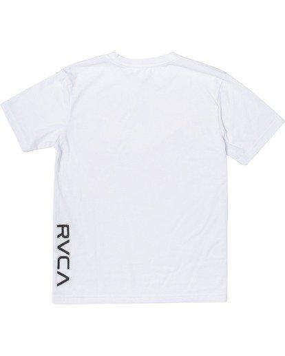 1 VA Sport | Boy's RVCA Short Sleeve Tee White B4163RVA RVCA