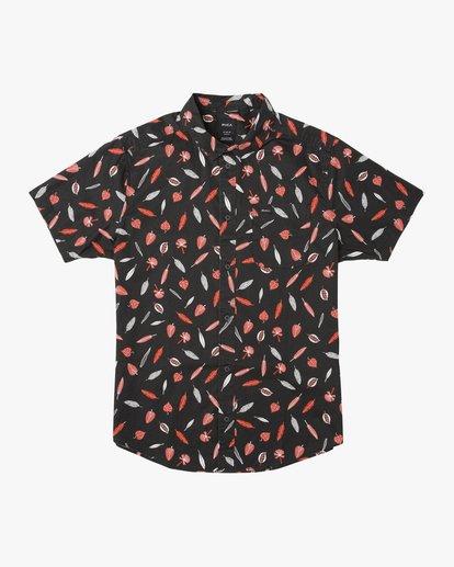 0 Boys Tom Gerrard Shirt Black B503TRTG RVCA