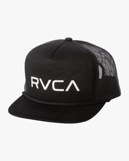 1 Boys RVCA FOAMY TRUCKER BOYS Black BAHW2RFT RVCA