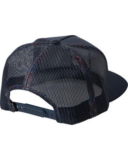 1 Boy's VA All The Way Trucker Hat White BAHW2RVP RVCA