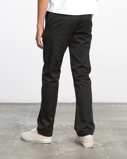 4 Boys WEEKDAY STRETCH straight fit PANT Black BC301WDS RVCA
