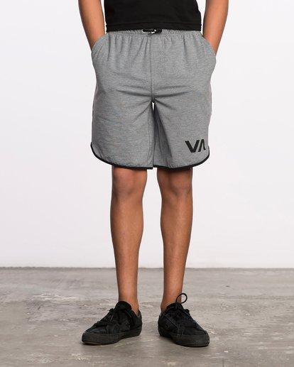 1 Boys VA Sport Short II Grey BL201SPO RVCA