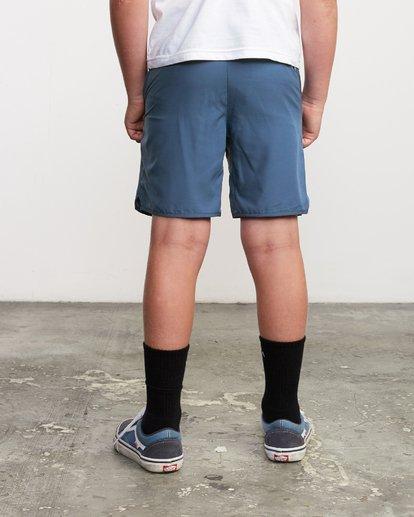 """2 Boys Yogger 3 15"""" Short Blue BL204YGR RVCA"""