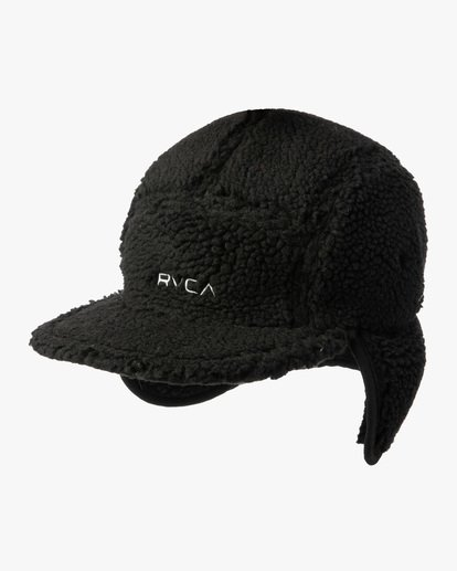 0 Boa Fleece Hoth Hat Black GVYHA00100 RVCA