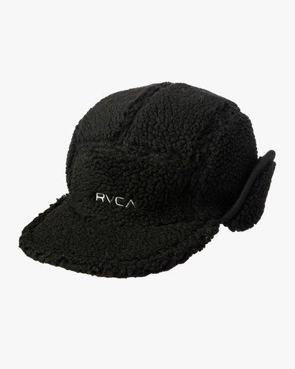 2 Boa Fleece Hoth Hat Black GVYHA00100 RVCA