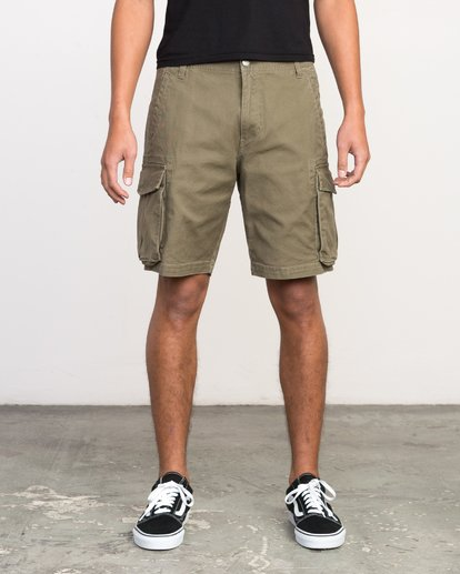 1 Wannabe Cargo - Short for Men  H1WKJORVP8 RVCA