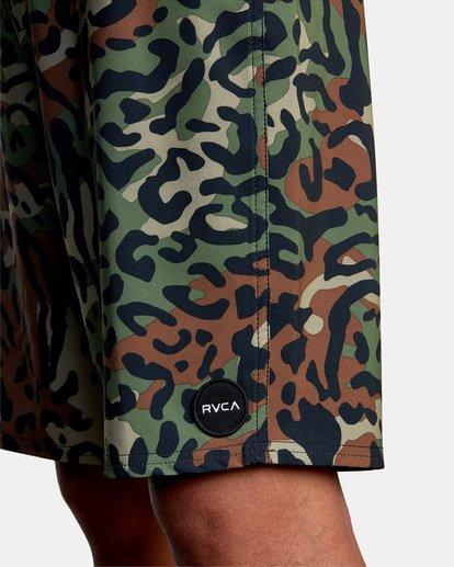 """3 VA PRINT 19"""" TRUNK Green M112VRVA RVCA"""