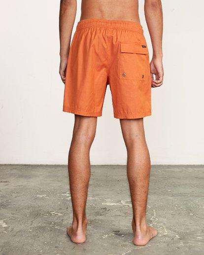"2 Tom Gerrard Elastic 17"" Trunk Orange M170TRGE RVCA"