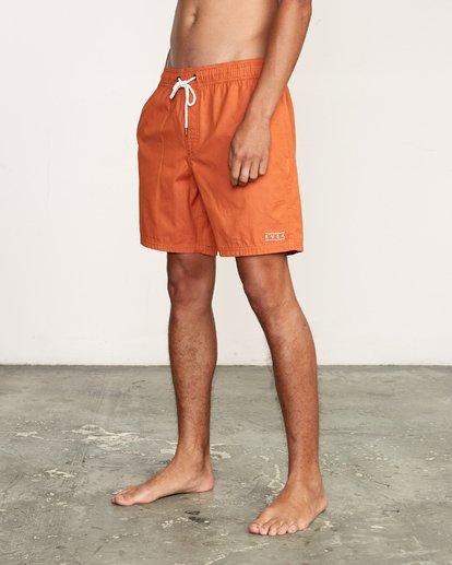 "4 Tom Gerrard Elastic 17"" Trunk Orange M170TRGE RVCA"