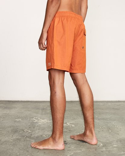 "5 Tom Gerrard Elastic 17"" Trunk Orange M170TRGE RVCA"