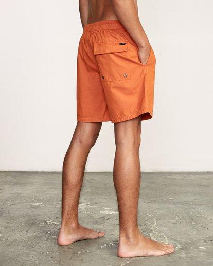 "6 Tom Gerrard Elastic 17"" Trunk Orange M170TRGE RVCA"