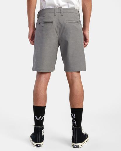 """2 Back In Hybrid Shorts 19"""" Grey M200QRBA RVCA"""