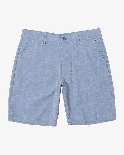 "0 Balance Hybrid Shorts 20"" Blue M2031RBH RVCA"