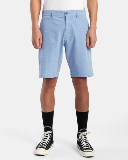 "1 Balance Hybrid Shorts 20"" Blue M2031RBH RVCA"