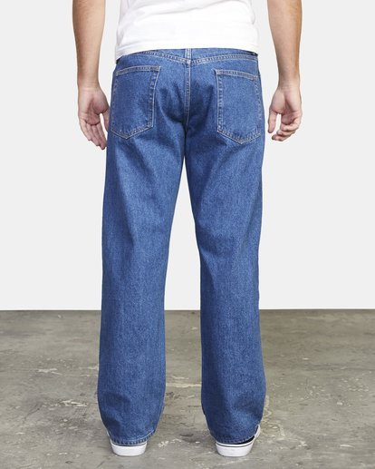 2 Recession | Americana Relaxed Fit Denim Jeans Multicolor M3073RAM RVCA