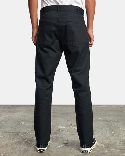 2 NEW DAWN MODERN STRAIGHT FIT PANT Black M3073RPR RVCA