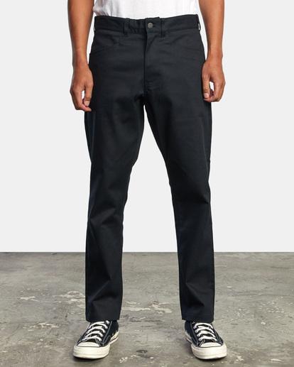1 NEW DAWN MODERN STRAIGHT FIT PANT Black M3073RPR RVCA