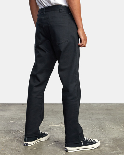 5 NEW DAWN MODERN STRAIGHT FIT PANT Black M3073RPR RVCA