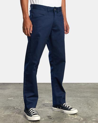 6 NEW DAWN MODERN STRAIGHT FIT PANT Blue M3073RPR RVCA