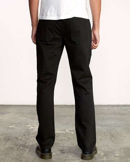 1 week-end 5-Pocket straight fit Pant  M310VRWP RVCA