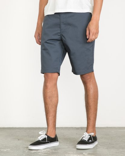 3 Week-End Shorts Blue M3211WES RVCA