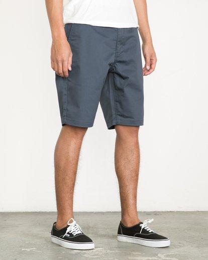 6 Week-End Shorts Blue M3211WES RVCA