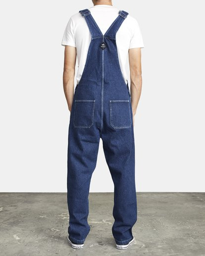 2 NAILHEAD RELAXED FIT OVERALL 3 Multicolor M3273RNH RVCA