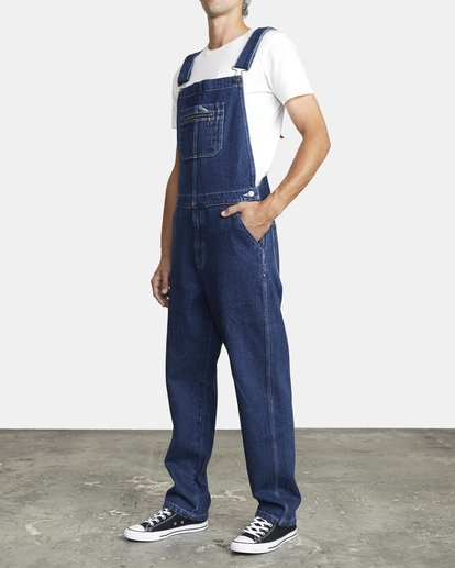 3 NAILHEAD RELAXED FIT OVERALL 3 Multicolor M3273RNH RVCA