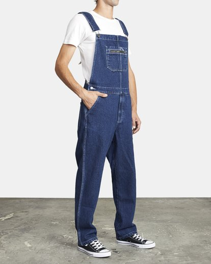 6 NAILHEAD RELAXED FIT OVERALL 3 Multicolor M3273RNH RVCA