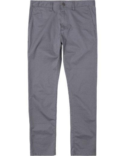 0 DAGGERS SLIM FIT CHINO pant Grey M3443RDC RVCA