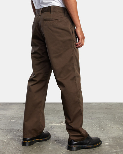 5 AMERICANA RELAXED FIT CHINO PANT Brown M3583RAC RVCA