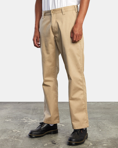 4 AMERICANA RELAXED FIT CHINO PANT Beige M3583RAC RVCA