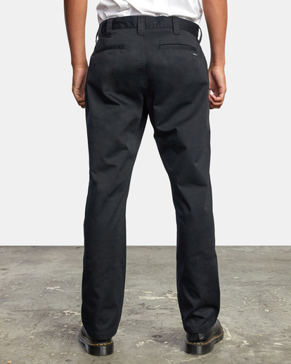 2 Recession | Americana Relaxed Fit Chino Pants Orange M3583RAC RVCA