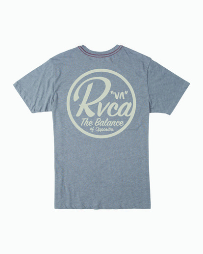 1 PATCH SEAL TEE Grey M4201RPS RVCA