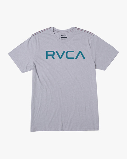 0 BIG RVCA SHORT SLEEVE TEE Green M420VRBI RVCA