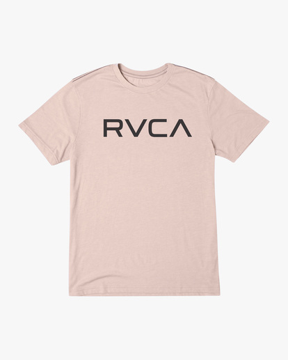 0 BIG RVCA SHORT SLEEVE TEE Grey M420VRBI RVCA