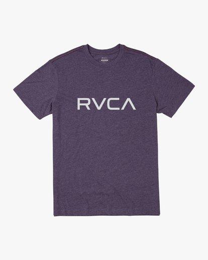 0 BIG RVCA SHORT SLEEVE TEE  M420VRBI RVCA