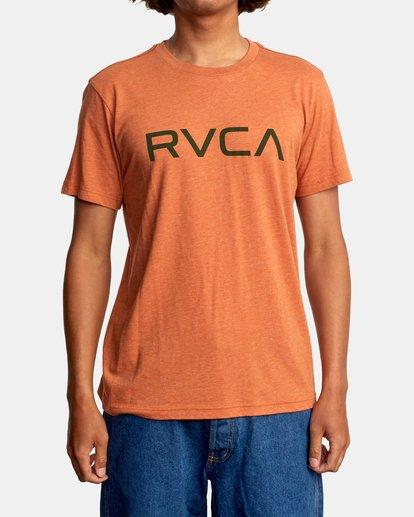 2 BIG RVCA SHORT SLEEVE TEE Multicolor M420VRBI RVCA