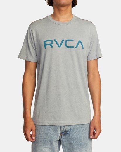 1 BIG RVCA SHORT SLEEVE TEE Green M420VRBI RVCA