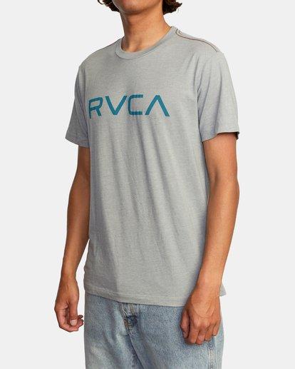 3 BIG RVCA SHORT SLEEVE TEE Green M420VRBI RVCA