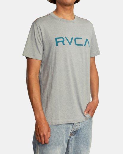 4 BIG RVCA SHORT SLEEVE TEE Green M420VRBI RVCA