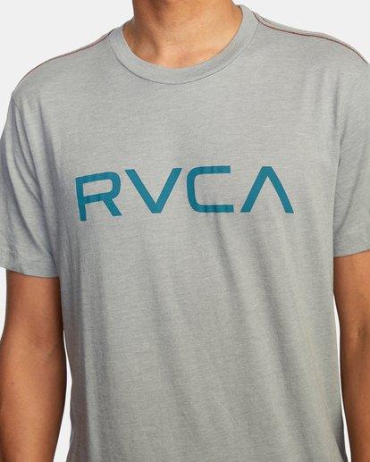 5 BIG RVCA SHORT SLEEVE TEE Green M420VRBI RVCA